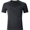 Odlo Evolution Warm Shirt S/S Crew Neck Men black/odlo graphite grey